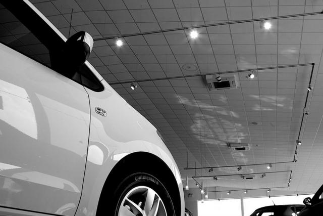 Car Show Room Track Lights