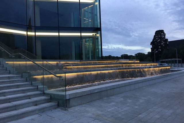 Leopardstown Water Lighting Feature